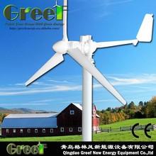 Caliente! Turbina del molino de viento 3kw, Pequeño generador para el hogar electricidad