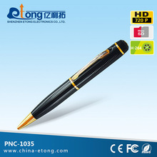 720p HD slim pen camcorder video & audio recorder
