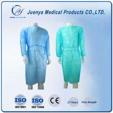 SBPP hospital uniform,PP lab coat ,disposable Non-woven lab coat
