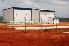 Steel structure waterproof garden shed