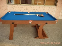 6ft folding up portable pool table for kids,small pool table for sale