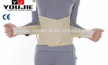 popular waist back brace with Velcro / lumbar support belt