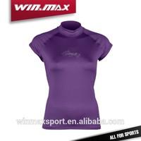 new product short sleeve anti-UV protective women custom rash guard