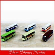 Scale1:50 model Alloy Bus car for Landscape Train Model Scale architectural scenery
