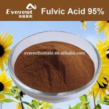 100% Water Solubility High Quality Fulvic Acid Fertilizer