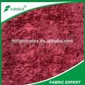 100% de polyester tissu d'ameublement de velours