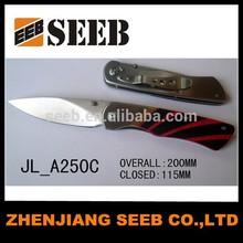 pocket knife steel folded cutter knife mini survival knife