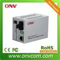 10 100m rj45 de doble modo de los medios de comunicación de fibra convertidor de cctv sistema de vigilancia