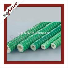 SupAnchor H25S self-drilling fiberglass gfrp soil nailing