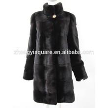 China online shopping beautiful style mink fur coat
