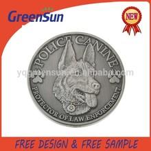Custom Die Cast Metal Pewter Coin