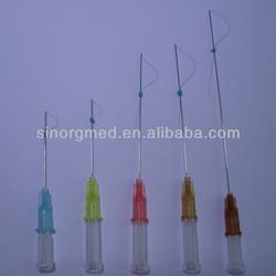 Plastic surgery disposable absorbable COG/MONO/Screw Face PDO lift thread