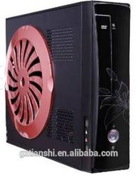 2015 desktop pc mini case with fan, cheapest mini case