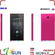 """4.7"""" inch Smartphone Android 4.4 4GB ROM 512MB RAM MTK6572 Dual Core Unlocked Smart Moblie android smartphone oem odm"""