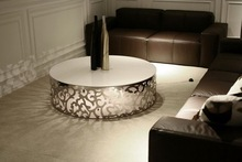 diamond decoration coffee table hexagonal coffee table