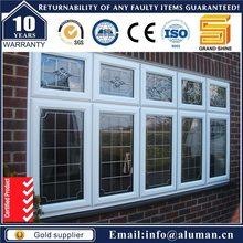 rental villas stylish white aluminum awning windows fabrication