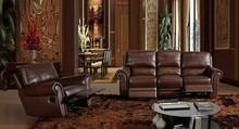 Modern luxury italian living room furniture sofa set electric relax leather Sofa