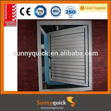 china supplier aluminum jalousie roller shutter window