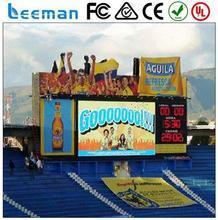 alibaba express in electronics live broadcast led display Leeman P10 P16 p20 outdoor led tv advertising screen billboard