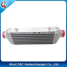 """Universal Intercooler 136MMx550MMx65MM 2.5"""" Inlet High Performance ALL Aluminum"""