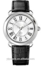 Wrist Watch Japan Movt Quartz Watch Stainless Steel Back Man Watch