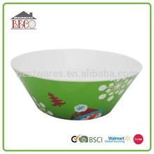 Holiday custom design christmas bowl