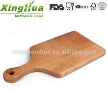 durable oak wood beech wood fruit cutting board with handle