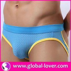 2015 latest arrival plain white cotton mens underwear boxer briefs