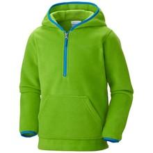 Boy's soft hooded fleece pullover
