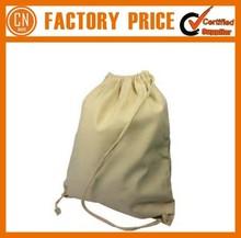 2015 Hot Sale Wholesale Cotton Fabric Drawstring Bag