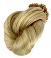 Loira 613# colorida yaki em linha reta/remy cacheados 1g stick extensões de cabelo ponta