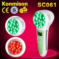 2015 new handheld photon led light Ultrasonic facial machine