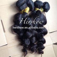 Natural 100% real,100g human hair bohemian curl peruvian hair