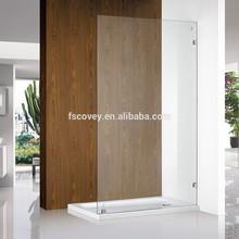 Australia wetroom walk in frameless shower screen for bathroom CVP007-1