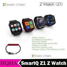"SmartQ Z1 Z Watch Andriod 4.3 1GHz CPU 1.54"" TFT 512M DDR 4GB ROM Bluethooth Mp3 Video Wrist Phone Watch Waterproof"