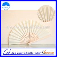 Wood Craft Hand Fan Handmade Souvenirs Crafts