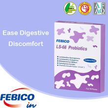 Venta al por mayor la nutrición óptima 100% natural de probióticos en polvo en sobres de dosis del producto la facilidad el malestar digestivo