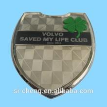 die cast metal badge/custom emblem