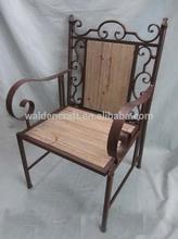 Park bench wooden garden chair