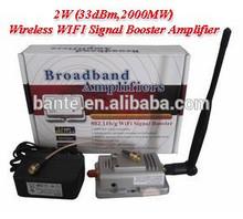 2W (33dBm,2000MW) Wireless WIFI Signal Booster Amplifier