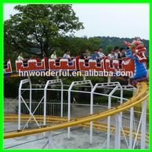 [Wonderful rides!!!]children playground entertainment dragon sliding roller coaster for kids