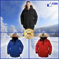 qtisy top de venda popular de moda masculina de inverno infantil jaqueta de couro genuíno