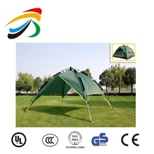 Tent Instant Automatic Waterproof Double Layer 3-4 Person Camping Family Green