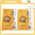 sopa quente pote base com congelamento de alho descascado congelado especificação