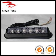 6 LED 12V and 24V Wide operating voltage strobe light