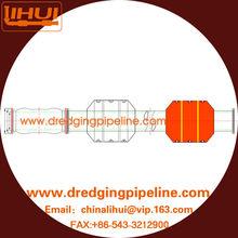 LIHUI DN400 PN8 black HDPE Dredging pipeline for slurry and sand