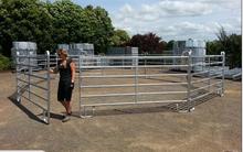 Heavy duty used livestock panels / cattle panels/ sheep panels