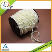 2015 popular wholesale plastic pearl bead curtain