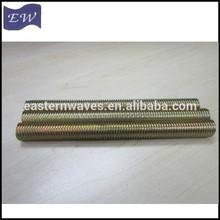 metrico barre filettate con zincato
