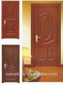 De alta qualidade da moda entrada pintura cores portas de madeira